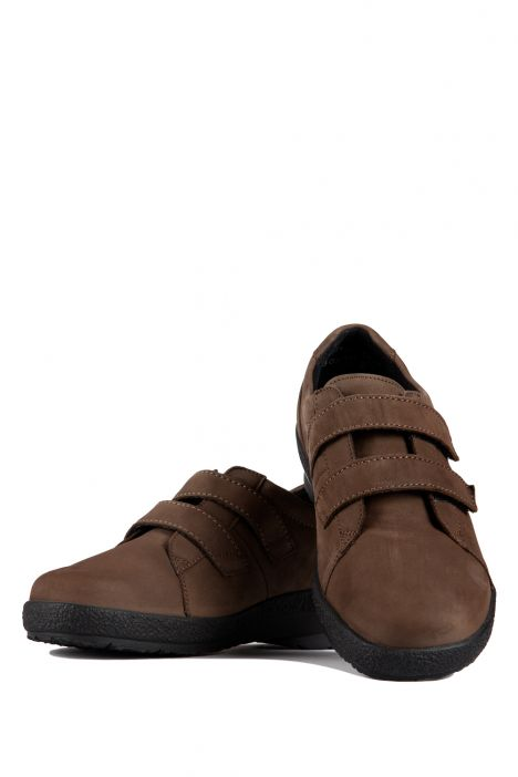5303 Berkemann Kadın Anatomik Ayakkabı (3-8,5) Khaki Nubuk - B-832