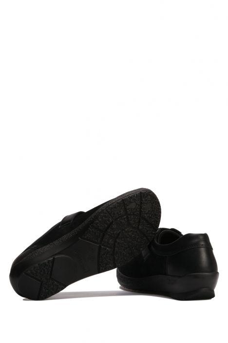 5312 Berkemann Kadın Anatomik Ayakkabı 3-8,5 Schwarz-Perlato - B-924