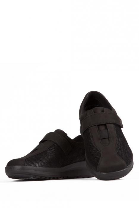 5351 Berkemann Kadın Ayakkabı 3-8,5 Schwarz Nubuk/Prägestretch - B-961