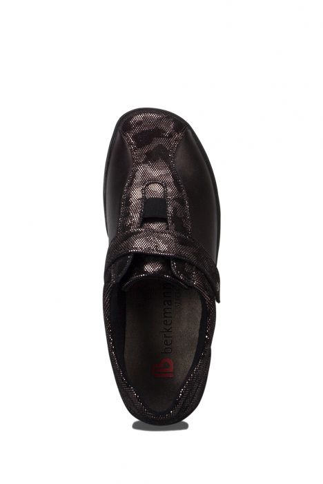 5351 Berkemann Kadın Anatomik Ayakkabı 3-8,5 Bronze Glamzleder/Stretch - B-453