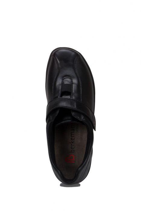 5351 Berkemann Kadın Anatomik Ayakkabı 3-8,5 Schwarz Leder/Strc. - 906