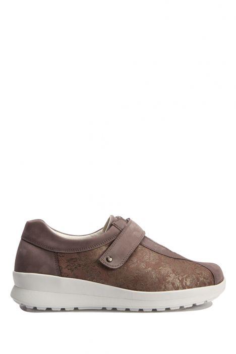 5351 Berkemann Kadın Anatomik Ayakkabı 3-8,5 Gray/Shiny Bronze-Leder/str. - 482