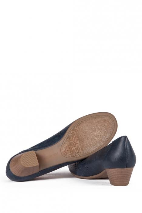 53609 Ara Kadın Topuklu Deri Ayakkabı 3-8 LUCKY, BLAU - 72LB