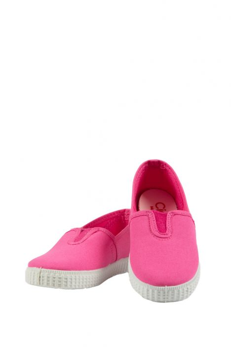 54000 Kifidis Cienta Çocuk Keten Ayakkabı 22-30 Fuşya / Fuxia
