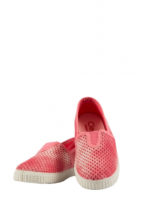 54029 Kifidis Cienta Çocuk Keten Ayakkabı 22-30 CORAL