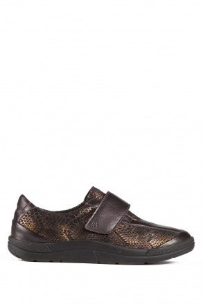 5403 Berkemann Kadın Ayakkabı 3-8,5 Braun-Leder/Bronze-Boa - B-427