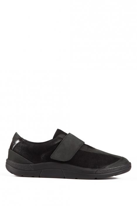 5403 Berkemann Kadın Ayakkabı 3-8,5 Schwarz-Nubuk/Lack - B-919