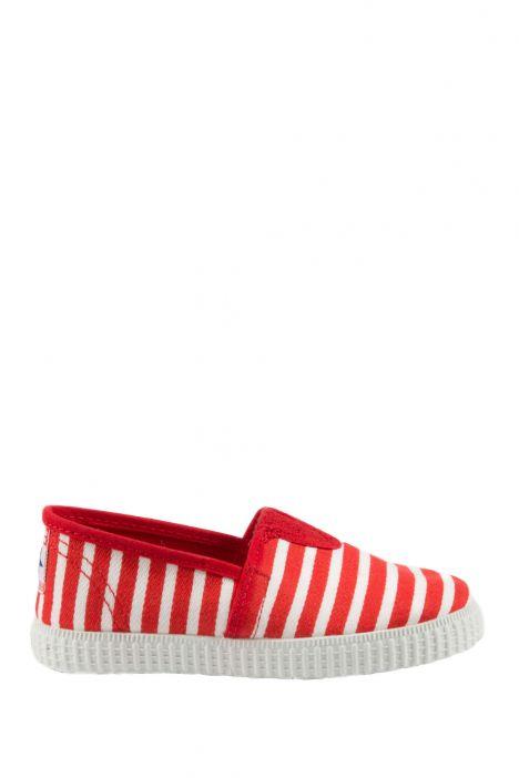 54095 Kifidis Cienta Çocuk Keten Ayakkabı 22-30 Kırmızı / Rojo