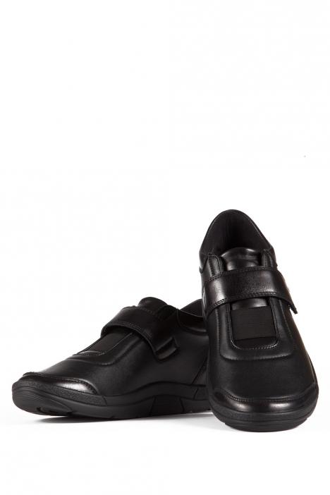 5411 Berkemann Kadın Anatomik Ayakkabı 3-8,5 Schwarz Leder/Strc. - 906