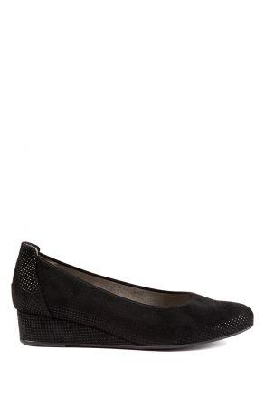 54380 Ara Kadın Dolgu Topuk Süet Ayakkabı 36-41