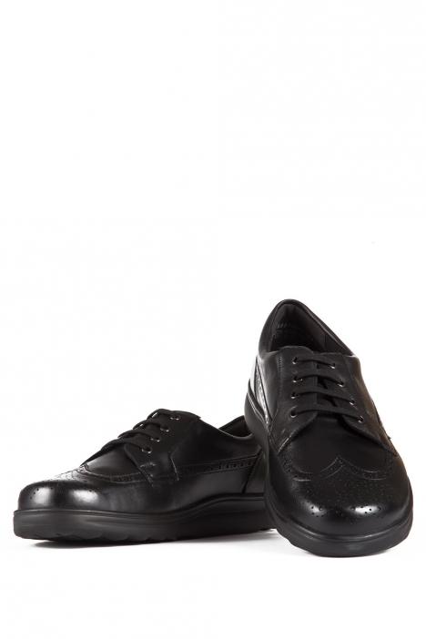 5503 Berkemann Erkek Anatomik Ayakkabı 6-12 Schwarz Kalbsleder - 901