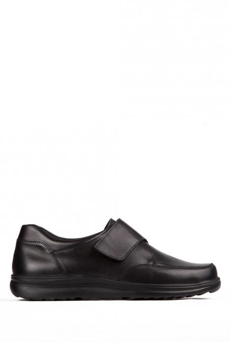 5505 Berkemann Erkek Ayakkabı 6-11,5 Schwarz Leder/Strc. - 906