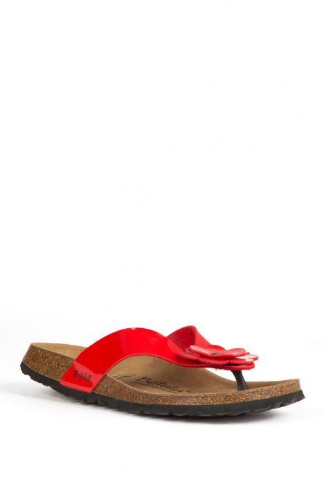 55143 Betula Lene Kadın Terlik Kırmızı / Red