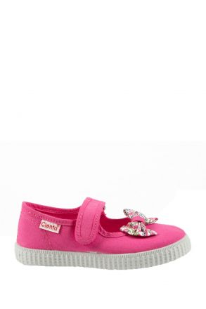 56010 Kifidis Cienta Çocuk Keten Ayakkabı 22-30 Fuşya / Fuxia