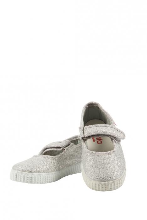 56013 Kifidis Cienta Çocuk Keten Ayakkabı 22-30 PLATINO