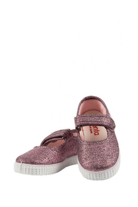 56013 Kifidis Cienta Çocuk Keten Ayakkabı 22-30 Pembe / Rosa