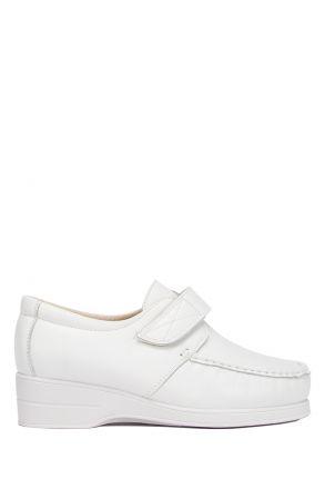 5627 Pinoso's Kadın Ayakkabı 35-42 Beyaz / White
