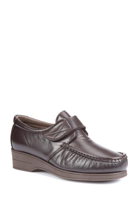 5627 Pinoso's Kadın Ayakkabı 35-42 Kahverengi / Brown