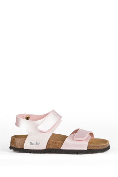 56323 Birkenstock Betula Jona Çocuk Sandalet 24-30 Pembe / Pink