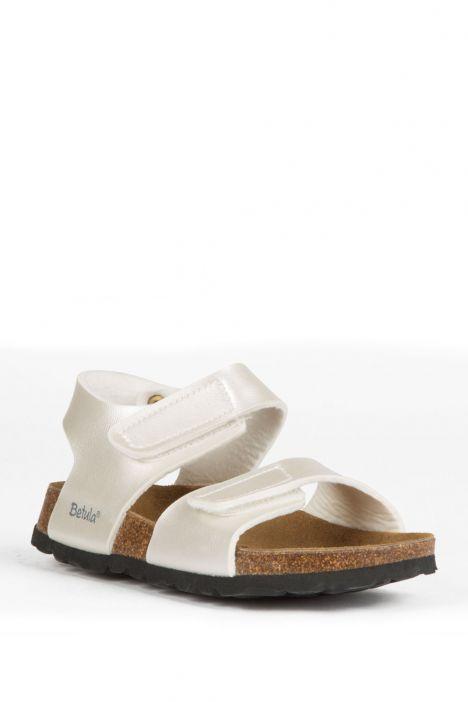 56333 Birkenstock Betula Jona Çocuk Sandalet 31-35 Beyaz / White