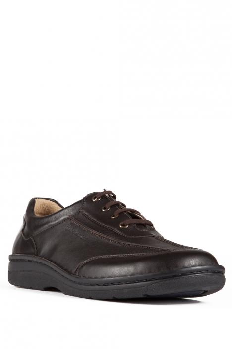 5703 Berkemann Erkek Anatomik Ayakkabı 6-12 Braun Kalbsleder - B-400