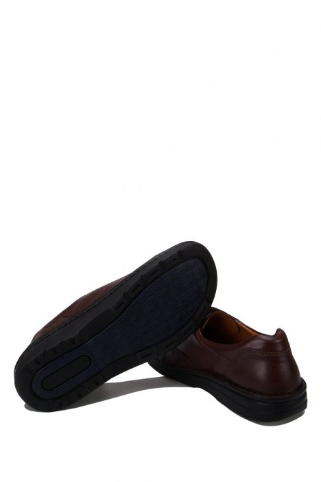 5704 Berkemann Erkek Anatomik Deri Ayakkabı 6-12 Braun Sportnappa Stretch - 432