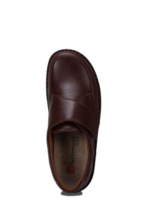 5704 Berkemann Erkek Ayakkabı 6-12 Braun Sportnappa Stretch - 432