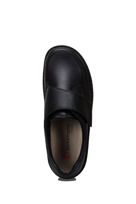5704 Berkemann Erkek Ayakkabı 6-12 Schwarz Sportnappa - 982