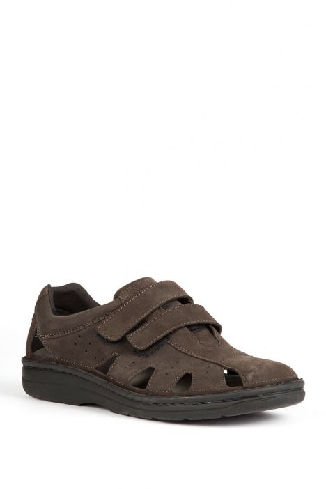 5722 Berkemann Erkek Ayakkabı 6-12 Dunkelbroun Velours - 451