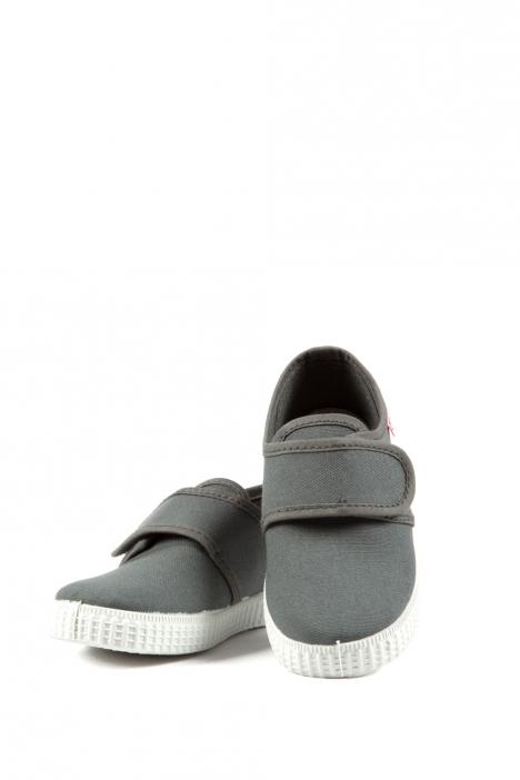 58000 Kifidis Cienta Çocuk Keten Ayakkabı 25-31 GRIS