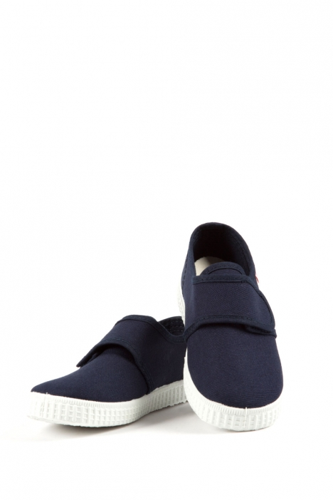 58000 Kifidis Cienta Çocuk Keten Ayakkabı 25-31 Mavi / Blue