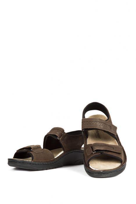 5802 Berkemann Erkek Sandalet 6-12 Kaki Nubuk - 509