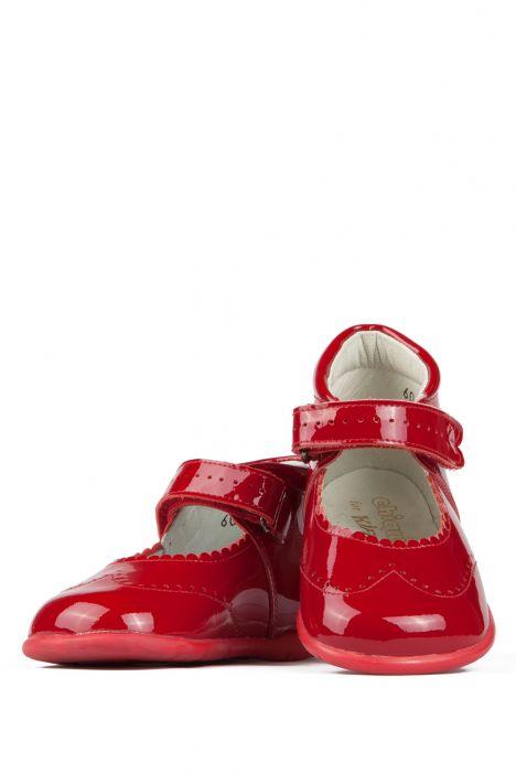 602 Chiquitin İlk Adım Çocuk Ayakkabısı 18-22 Kırmızı / Rojo