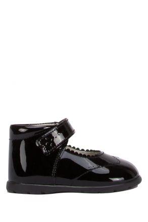 602 Chiquitin İlk Adım Çocuk Ayakkabısı 18-22 Siyah / Cha. Negro