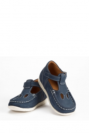 604 Kalite Çocuk Ayakkabı (Velkrolu) 25-30 NU.JEANS