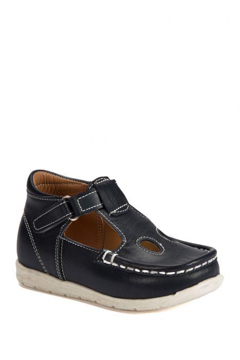 604 Kalite İlk Adım Çocuk Ayakkabısı (Velkrolu) 19-24 Lacivert / Navy