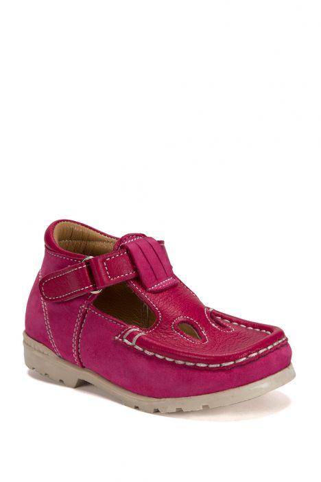604 Kalite İlk Adım Çocuk Ayakkabısı (Velkrolu) 19-24 NU. FUXIA