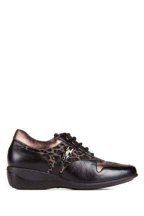 6080 Valleverde Kadın Ayakkabı 36-40 Siyah / Nero