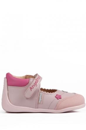 609 Kifidis Angel Hakiki Deri İlk Adım Ayakkabı 19-24 ROSA