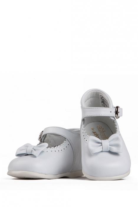 610 Chiquitin İlk Adım Çocuk Ayakkabısı 19-24 Beyaz / Bianco