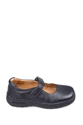 61809 Garvalin Okul Ayakkabısı 30-34 Siyah / Black