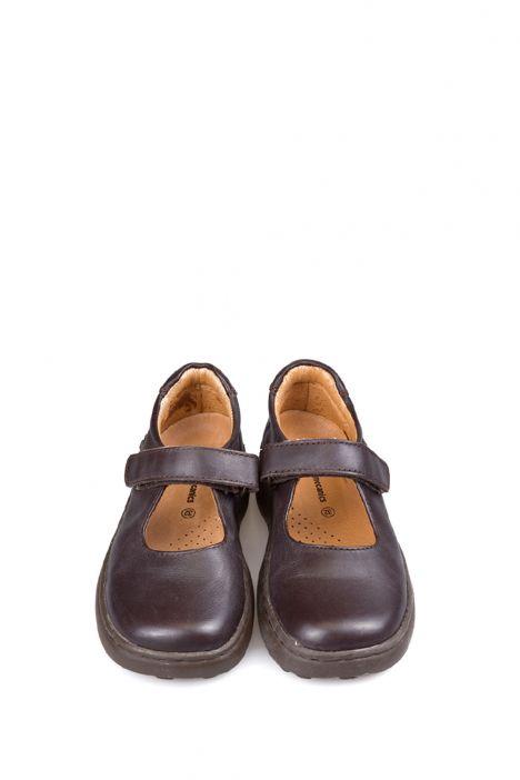 61809 Garvalin Okul Ayakkabısı 30-34 DARK BROWN