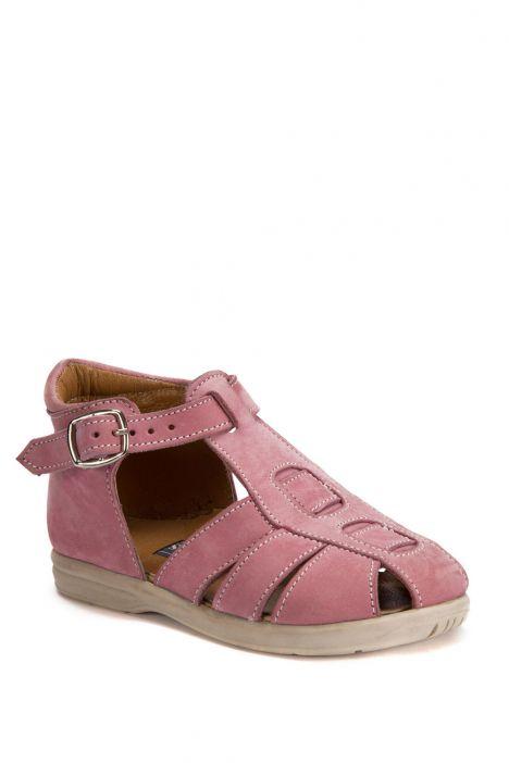 622 Kalite İlk Adım Çocuk Ayakkabısı 19-24 Nubuk Pembe