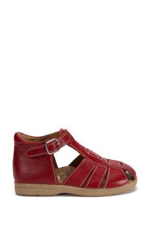 622 Kalite İlk Adım Çocuk Ayakkabısı 19-24 Kırmızı / Red