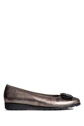 63384 Ara Jenny Kadın Ayakkabı 3,5-8,5 CRU-MET, TAUPE - 83CT
