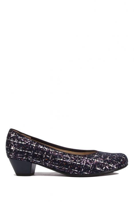 63619 Ara Kadın Topuklu Deri Ayakkabı 3.5-8.0 FANCY,BLUE - 87FB