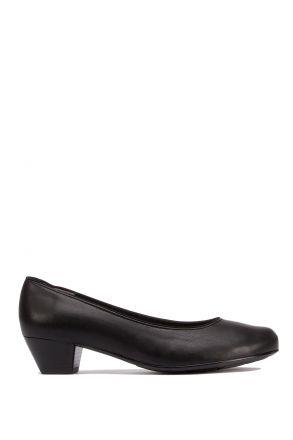 63619 Ara Kadın Topuklu Deri Ayakkabı 3.5-8.0