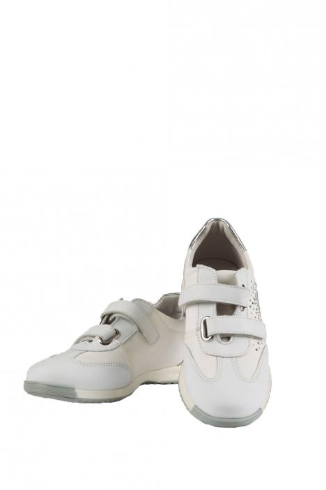 6516F2E Kifidis Melania Çocuk Spor Ayakkabı 30-37 Beyaz / Bianco