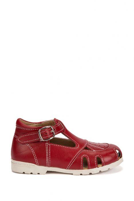 70 Kalite İlk Adım Çocuk Ayakkabısı 19-24 Kırmızı / Red
