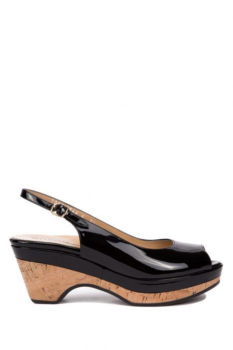 7032 Valleverde Kadın Sandalet 35-41 Siyah / Nero